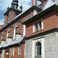 Nowy Targ - church, Новы-Тарг