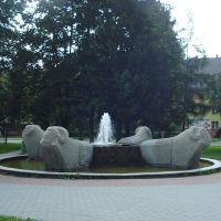 jb - lipiec 2012 - fontanna z baranami ;), Новы-Тарг