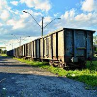 ........areál žel.stanice Nowy Targ, Новы-Тарг
