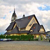 Kostol v Nowom Tragu, Новы-Тарг