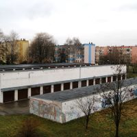 View from Galicja Hotel, Освецим