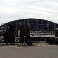 Sala de deporte - de hielo - fachada, Освецим