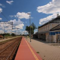 Skawina - the railway station, Скавина