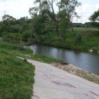 Rzeka Skawinka w Skawinie, Скавина