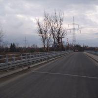 Skawina - mostek na Skawince, Скавина