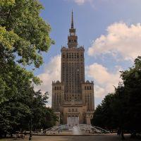 Pałac Kultury I Nauki , Warsaw, Варшава