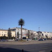Warsaw - Charles de Gaulle roundabout / Warszawa - rondo Charlesa de Gaullea, Варшава