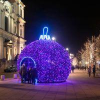 Warszawskie bombki świąteczne 2012 r -, Варшава