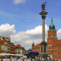 Sigismunds Column & Royal Castle, Варшава