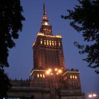 Warszawa - Pałac Kultury i Nauki, Варшава ОА ПВ