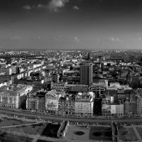 View from palace of culture / Warsaw panorama [www.wierzchon.com], Варшава ОА ПВ