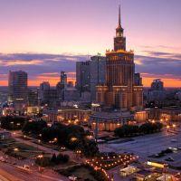 Nasza Warszawa / Warsaw from 25th floor, Варшава ОА ПВ