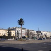 Warsaw - Charles de Gaulle roundabout / Warszawa - rondo Charlesa de Gaullea, Варшава ОА УВ