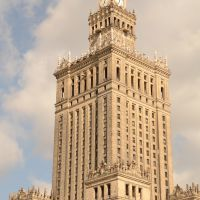 Poland - Warsaw - Culture Tower, Варшава ОА УВ