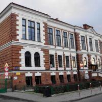 Budynek Liceum Ogólnokształcącego 1905 r. Gostynin /zk, Гостынин