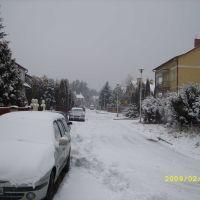 Zima na ulicy Wojska Polskiego, Козенице