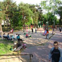 Legionowo / Poland - Plac zabaw dla dzieci w parku im.Jana Pawła II-Childrens Playground, Легионово