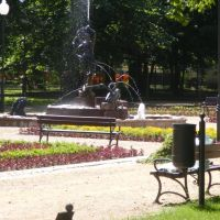 Fontanna w Parku Miejskim, Млава