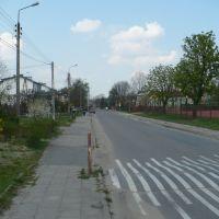 Grunwaldzka Street (vis a vis school), Остров-Мазовецки