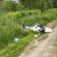 Śmieci w Markach, Остров-Мазовецки