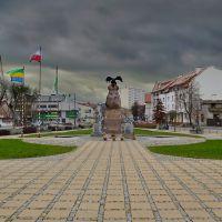 Skwer im. Lecha Kaczyńskiego, Остролека