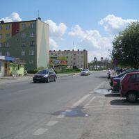 Ostrołęka: ulica Goworowska, Остролека