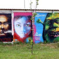 Grafiti, Остролека