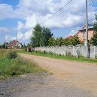 Ostrołęka: domy przy ulicy Słonecznej, Остролека