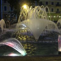 fontanna na rynku, Плоцк