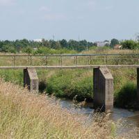 Most nad Kanałem Markowskim (rz. Długa) [2013.07.26], Пьястов