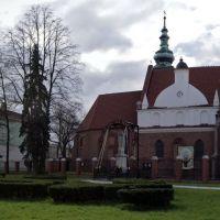 Radom, klasztor OO. Bernardynów - panorama, Радом