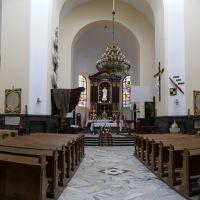 Radom, kościół garnizonowy pw. św. Stanisława - panorama wnętrza, Радом
