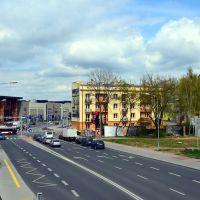 Skrzyżowanie Pileckiego, Struga i Chrobrego w Radomiu, Радом