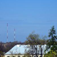 Wieże radiowe w Radomiu: 156m, 107m, 101m i 101m, Радом