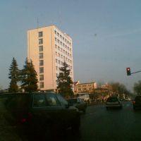 Drapacz chmur w centrum przy ul. J. Piłsudskiego, Седльце