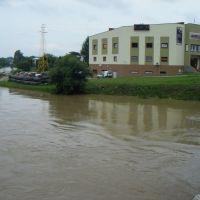 Galeria Zawodzie - potop, Кросно