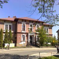 Krosno - ul.Kapucyńska, budynek dawnego Towarzystwa Zaliczkowego (aktualnie siedziba banku), Кросно