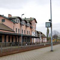 Krosno (woj.podkarpackie) - Dworzec PKP, Кросно