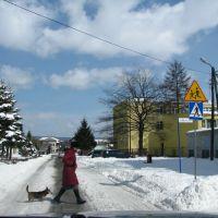 Krosno, ul.Magurów 16.03.2013, Кросно