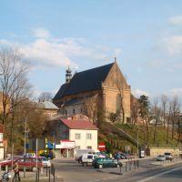 Fara - widok od poczty, Кросно