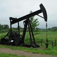 Polski przemysł naftowy, takie machny jeszcze działają w Bieszczadach, Санок
