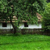 Stara chata w sanockim skansenie, Санок