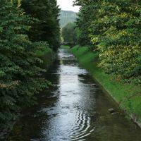 Sanok, strumień przy Podgórzu, zasila San., Санок