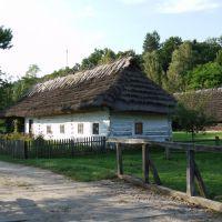 Sanok, Muzeum Budownictwa Ludowego, zabudowania mieszkalno-gospodarskie., Санок