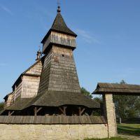 Sanok, Muzeum Budownictwa Ludowego, Kościół z Bączala Dolnego., Санок