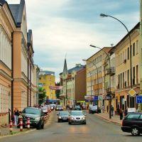 Sanok-ul.Kościuszki.Sanok City-street Kosciuszko, Санок
