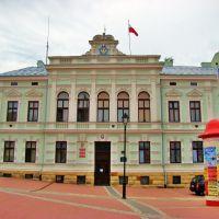 Sanok-dawny budynek Rady Powiatowej z XIXw.Obecnie siedziba Urzędu Miasta, Санок