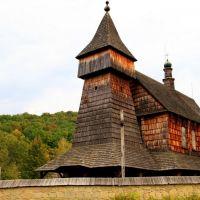Kościół rzymskokatolicki z Bączala Dolnego k/ Jasła - 1667 rok, Санок