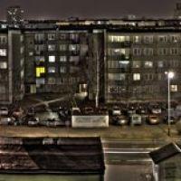 Tarnobrzeg, nocna panorama hdr, Тарнобржег
