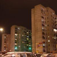 Tarnobrzeg, bloki przy ulicy Zwierzynieckiej, Тарнобржег